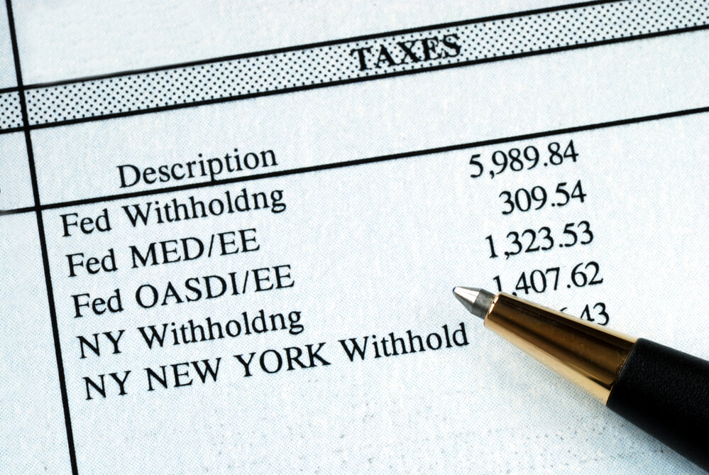 Tax Withholdings