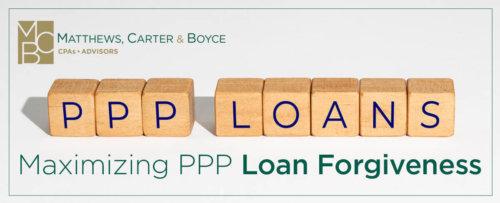 MCB Webinar: Maximizing PPP Loan Forgiveness