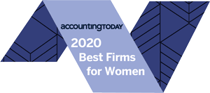 Accounting Today - 2020 Best Firms for Women - Banner